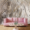 Пользовательские обои Mural Vintage Wood Texture 3D Нетканые обои Cafe Restaurant Creative Decor 3D Wall Murals Papel De Parede custom 3d flooring wallpaper pvc wear non slip waterproof thickened self adhesive murals sticker hotel bathroom papel de parede