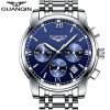 Мужские часы топ бренда роскоши моды бизнеса кварцевые часы мужские спортивные все-стальные водонепроницаемые часы часы kenneth cole kenneth cole ke008dmwtw72