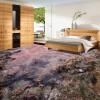 Бесплатная доставка Wetland 3D утолщенная водонепроницаемая напольная самоклеящаяся лобби-студия для ванной комнаты на стенах для гостиной 250cmx200cm