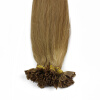 1g/s 100g Human Remy Hair Black Ash Brown Platinum Blonde Straight Custom Capsule Keratin Nail U-tip Fusion Hair Extensions