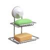 Двойной всасывающий перфоратор свободный мыльница висячий держатель для мыла Lishui творческий ящик для мыла для туалетной бумаги