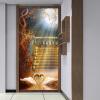 купить Фото обои Пользовательский 3D-Стерео Moonlight White Swan Mural Hotel Гостиная Входная рамка Настенная живопись Papel De Parede 3D по цене 1690.66 рублей