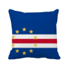Cape Verde National Flag Africa Country Square Throw Pillow Insert Cushion Cover Home Sofa Decor Gift cartoon panda print sofa cushion throw pillow case