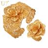 к 2015 году новый браслет кольцо комплекс Platinum / часов реального позолоченные изысканных женщин прощальный подарок модный большой цветок драгоценностей набор оптовой