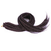 18/24 inch Ombre Crochet Box Braids Synthetic Braiding Hair Extensions African Hairstyles Crochet Braids torch brand mount bench hot rope cutter synthetic twines braids electric hot knife