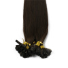 1g/s 100g Human Remy Hair Black Ash Brown Platinum Blonde Straight Custom Capsule Keratin Nail U-tip Fusion Hair Extensions 25cm 100cm doll wigs hair refires bjd hair black gold brown green straight wig thick hair for 1 3 1 4 bjd diy