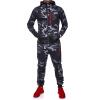 New Men' Fashion 2 Parts Hooded Sweatshirt and Sport Pants Set