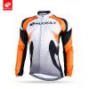 NUCKILY Мужчины Светоотражающая дорожная одежда для велосипеда Одежда Custom Long Sleeve Велосипед Велоспорт Джерси для зимы NJ528