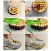 1pc новый торт slicer лист руководства фракций сервер хлеб порезать кухонный гаджет