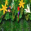 Пользовательские обои для фото 3D Ручная роспись европейского стиля Пастырские тропические тропические леса Юго-Восточная Азия Банановые листья