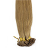 1g/s 100g Human Remy Hair Ash Brown Platinum Blonde Straight Custom Capsule Keratin U-tip or Flat-tip Human Hair Extensions 10 pieces 20 remy tape hair extensions 16 ash blonde
