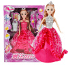 Abbie Lens Eyes with 3D Curl Eyelashes Doll DIY Toys Clothes Gown Outfits and Shoes for Girl's Birthday Party Christmas Gift diy doll house villa model include dust cover and furniture miniature 3d puzzle wooden dollhouse creative birthday gifts toys