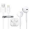 Сноукид Apple телефон в ухе наушник интерфейс кабель + Apple MFi кабель для передачи данных / зарядное устройство питания аксессуары 1,2 м 6s / 6Plus белый костюм