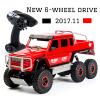 2017 NEW Cool Rc Car 4CH 6WD Rock Crawlers 6x6 Driving Car Double Motors Drive Big foot Car Remote Control Car Model Off-Road big motors квадроцикл инерционный 4 wd цвет оранжевый