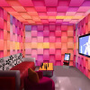 Пользовательские обои Mural 3D Стереоскопические красочные обои Плед Обои Фрески Гостиная Бар Отель KTV Магазин одежды Стена Картина