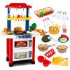 Bain Ши (beiens) образовательные игрушки дети играют дома имитационные ролевые игрушки Разнообразие кухни красный костюм 718-1
