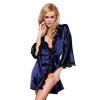 малого @ женщин леди кружева белье пятно халат нижнее белье кукольный sleepwear + стринги