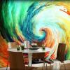 Пользовательские обои Абстрактные рисованной живописи Европейский интерьер стены фона стены обои для гостиной для гостиной