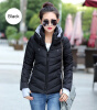 2017 Winter Jacket Women Parka Thick Winter Outerwear Plus Size Down Coat Short Slim Design Cotton-padded Jackets and Coats 2017new down parka winter jacket women cotton padded thick ultra light long coat faux fur collar hooded female jackets for woman page 1