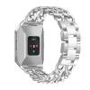 Замена металлических цепочек из нержавеющей стали Регулируемая складная застежка для Fitbit Ionic