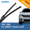 SUMKS Wiper Blades for BMW 5 Series E39 /5 Series E60 / E61 24& 23 / 26& 22 Fit pinch tab Arms / Side Latch Arm 1995 to 2010 wiper blades for bmw 3 series f90 f91 24