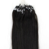 1g/s 100g Black Micro Ring Loop Remy Human Hair Extensions 1g s 100g black micro ring loop remy human hair extensions