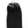 1g/s 100g Black Micro Ring Loop Remy Human Hair Extensions fashion hair queen 27 100s 0 5 g s 100% 50 g micro ring loop hair