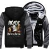 Новый дизайн AC DC Bell Skull Mens Hoodies Я получил свой колокол Собираюсь принять Ya To Hell Thicken Zipper man hoodies sweatshi cd ac dc highway to hell special edition digipack