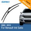 SUMKS Wiper Blades for Renault Vel Satis 28&26 fit side pin type wiper arms 2002 2003 2004 2005 2006 2007 2008 2009 2010