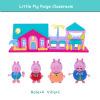 Розовый поросенок Игрушки для маленьких детей Ролевые игры мини модель украшения Ролевые игры игрушки Симпатичные Животные Пластик игрушки для детей