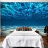 Пользовательские фото стены Бумага 3D Deep Sea Scenery Большие обои обои Обои для стен Гостиная Спальня Обои для стен 3 D