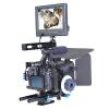 YELANGU YLG1105A Комплект для установки камеры для видеокамер с матовой коробкой и фокусом для Panasonic Lumix DMC-GH4 & G7 / Sony