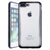 Weiji iPhone 7/8 Plus Телефон Корпус Прозрачный чехол для телефона черный для iPhone 7/8 Plus