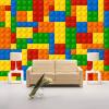 Пользовательский размер 3D Обои для стен Обои для гостиной Lego Bricks Детский магазин игрушек для спальни Нетканая роспись обоев для обоев для спальни