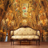 Фото обои Европейский дворец дворца роспись обои гостиная спальня телевизор фон стена обои личность обои обои