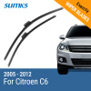 SUMKS Wiper Blades for Citroen C6 28&28 Fit Side Pin Arms 2005 2006 2007 2008 2009 2010 2011 2012