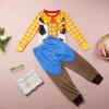 Волк (canis@косплей Шериф Вуди из мультфильма мальчиков домашняя одежда пижамы пижамы установить 2шт 1~7Y