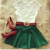 Lovaru ™ летние +2015 Новая мода белый шифон блузка кружево Camisas женщины блузки случайные вершины плюс размер