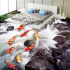Бесплатная доставка Текучая вода богатая больше, чем туалетная комната 3D-напольное покрытие из нескользящей гостиной полы в стене 250cmx200cm туалетная вода s oliver туалетная вода s oliver superior man 30 мл