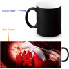 Inuyasha 350ml/12oz Heat Reveal Mug Color Change Coffee Cup Sensitive Morphing Mugs Magic Mug Milk Tea Cups keith double wall titanium beer mugs insulation drinkware outdoor camping coffee cups ultralight travel mug 320ml 98g ti9221
