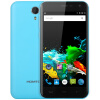HOMTOM HT3 5.0-дюймовый Android 5.1 3G-смартфон MTK6580 Quad Core 1.3GHz 2.5D HD-экран 1GB RAM 8GB ROM Двойные камеры GPS Smart Gestu m pai 809t mtk6582 quad core android 4 3 wcdma bar phone w 5 0 hd 4gb rom gps black