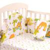elepbaby Бамперы и постельное белье для детской кровати 120 * 70см молочный стиль творог 9% 230 г
