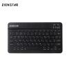 Фото Zienstar русский Беспроводной клавиатура Bluetooth 3.0 для Ipad, Macbook, ноутбук, ТВ Box компьютера PC, планшет с Встроенный акку планшет