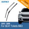 SUMKS Wiper Blades for SEAT Toledo Mk3 26&26 Fit Claw Arms 2005 2006 2007 2008 2009
