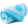 Sanli супер мягкий бамбук хлопок жаккард полотенце Сильные впитывающее полотенце мыть голубой полотенце кухонное 40х60см бамбук жаккард цвет зеленый