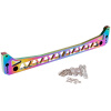 Ryanstar Racing Neo Chrome Function7 EK Subframe Lower Tie Bar Brace For HOND* CIVI* 1996-2000 epman neochrome rear subframe brace tie bar rear lower control arm for honda civic acura rsx si ep3 es ep asrlcatn es 7c