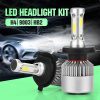 1 Pair H4 Led H7 H11 H1 H3 9005/HB3 9006/HB4 Led Car light H8 H9 Auto Bulb Headlight 6000K sencart h7 male to female wire harness sockets extension cable for car headlamp foglight