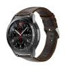 22мм Подлинная кожаный ремешок для замены Samsung Gear S3 Frontier / Classic SM-R760 и Moto 360 2-й Gen 46mm Watch смарт часы samsung galaxy gear s3 classic sm r770 1 3 super amoled серебристый sm r770nzsaser