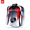NUCKILY Пользовательский дорожный велосипед Джерси Зимняя длинная рукава Руна Профессиональная одежда для велосипеда NJ532-W