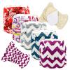 MABOJ 5pcs Новорожденные ткани Подгузники Детские подгузники Многоразовые младенца новорожденного новорожденного подгузники
